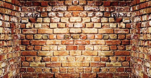 Oude bakstenen muurachtergrond Gratis Foto