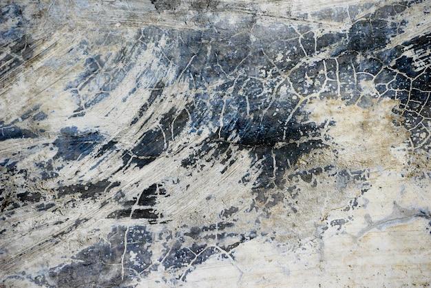 Oude grunge abstracte achtergrondtextuur vuile concrete muur Premium Foto