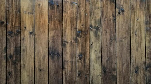 Oude houten achtergrond Gratis Foto