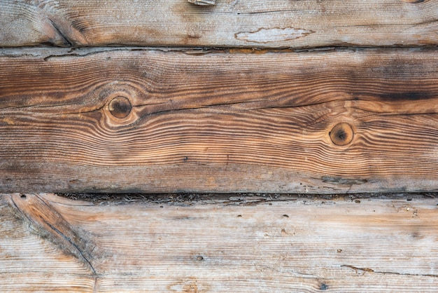Oude houten muur Premium Foto