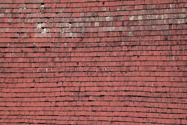 Oude houten rode tegels patroon achtergrond foto premium download