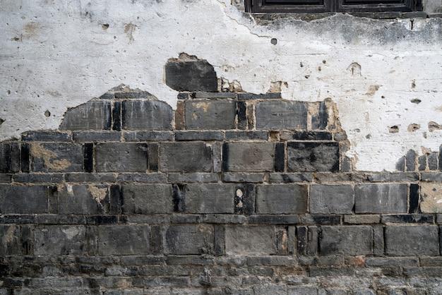 Oude muurachtergrond, muurtextuur Premium Foto
