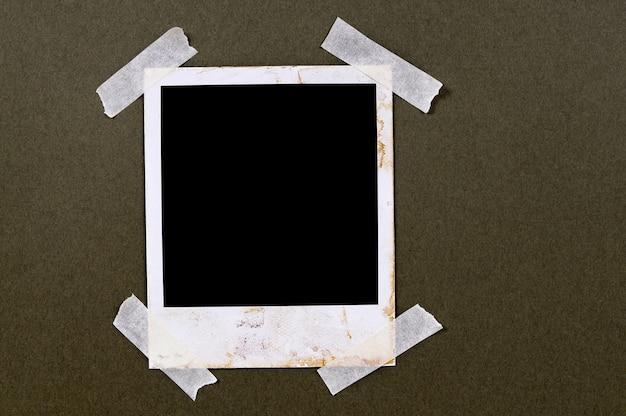 Oude polaroidfoto Gratis Foto