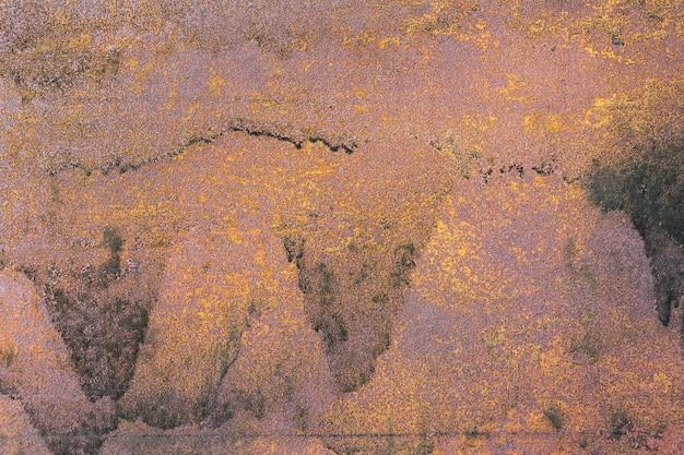 Oude roestige metalen achtergrond, textuur. Premium Foto