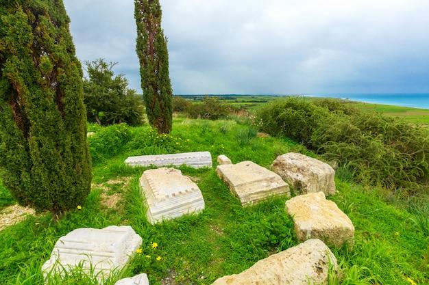 Oude ruïnes. cyprus Premium Foto