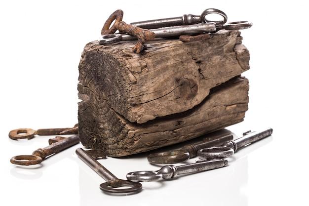 Oude sierlijke sleutels Gratis Foto