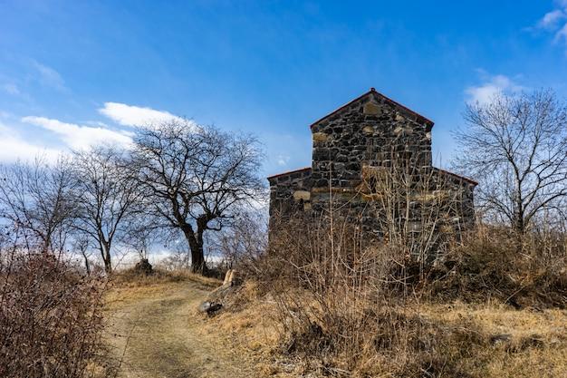 Oude stad samshvilde ruïnes Premium Foto