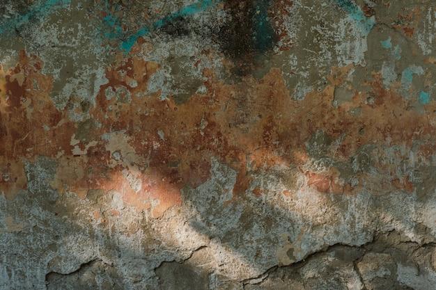 Oude stenen muur met gips, donkere achtergrond voor ontwerp, sociale netwerken Premium Foto