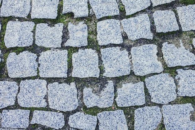 Oude stenen weg Premium Foto