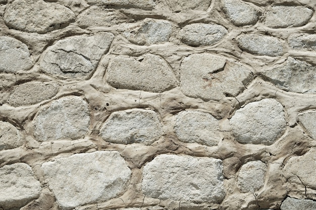 Oude van de achtergrond steenmuur textuurclose-up Gratis Foto
