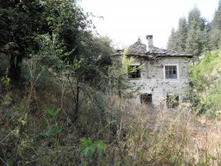 Oude verlaten stenen huis foto gratis download - Oude huis fotos ...