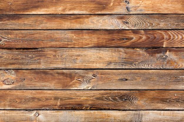 Oude vintage bruine houten achtergrond Premium Foto