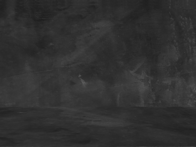 Oude zwarte achtergrond. grunge textuur. donker behang. schoolbord. schoolbord. beton. Gratis Foto