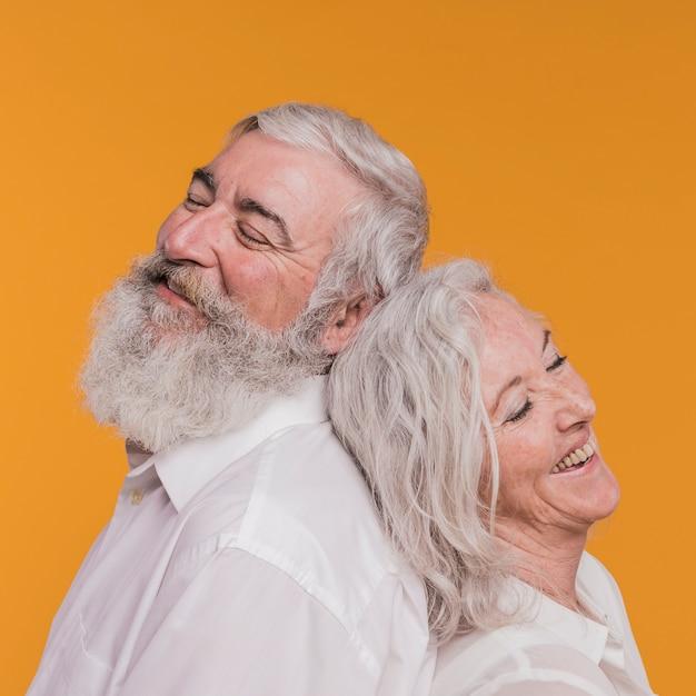 Ouder echtpaar Premium Foto