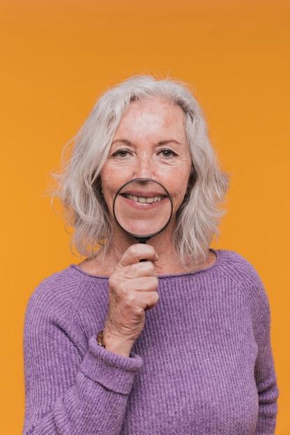 Oudere vrouw Gratis Foto