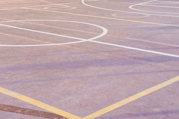 Outdoor basketbalveld Premium Foto