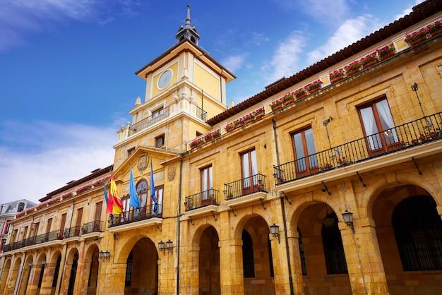 Oviedo in asturië van spanje Premium Foto