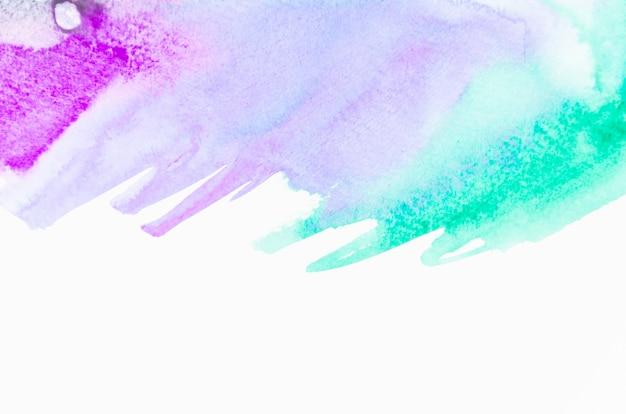 Paars en groen geborsteld geschilderde abstracte achtergrond Gratis Foto