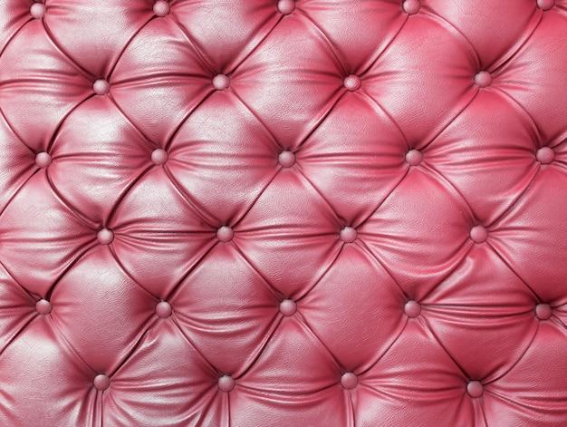 Paarse capitone getuft stof bekleding textuur Premium Foto