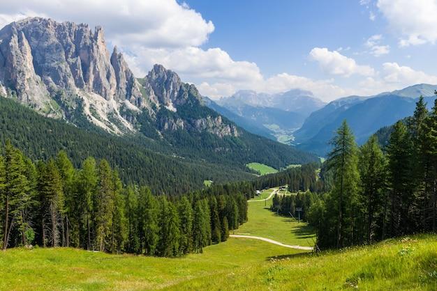 Panorama van larsec. Premium Foto