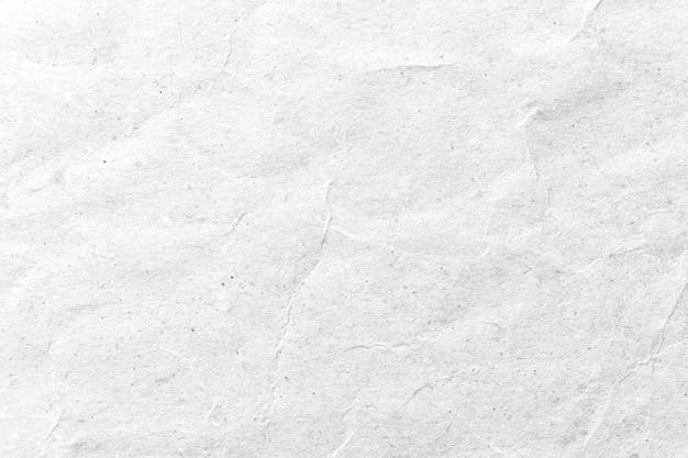 Papier textuur. witte verfrommeld papier achtergrond. Premium Foto