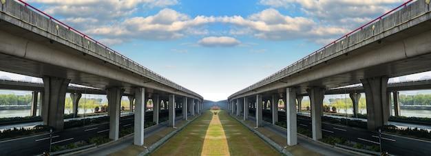 Parallel bruggen Gratis Foto