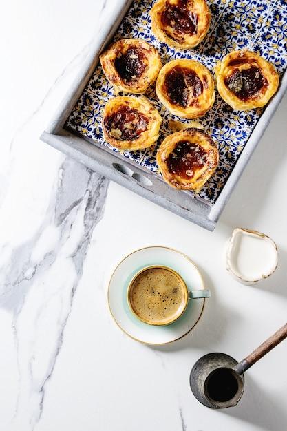Pasteis de nata Premium Foto