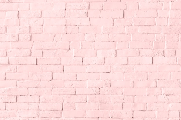 Pastel bakstenen muur Gratis Foto