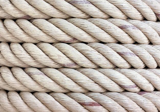 Patroon en textuur van de kabelkrul Premium Foto