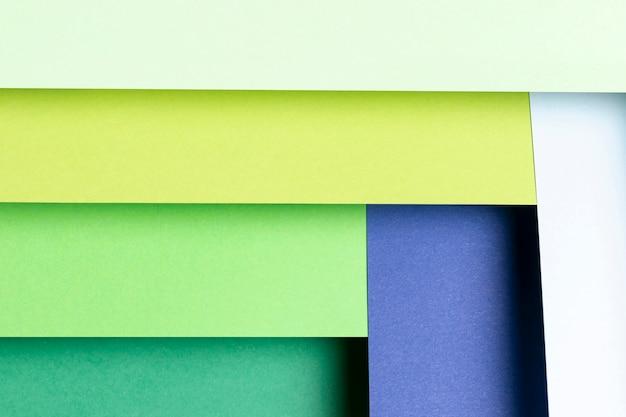 Patroon met verschillende tinten koele kleuren Gratis Foto