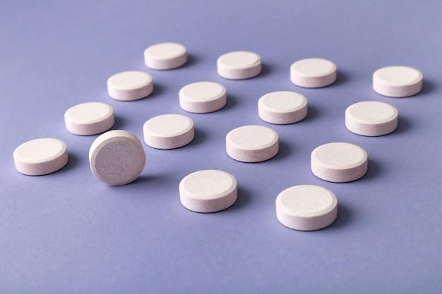 Patroon van pillen Premium Foto