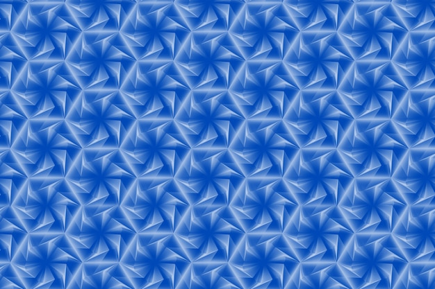 Patroon van zeshoeken en cirkels op basis van een zeshoekig raster Premium Foto