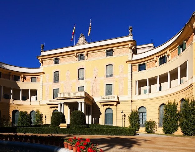 Pedralbes royal palace in barcelona Gratis Foto