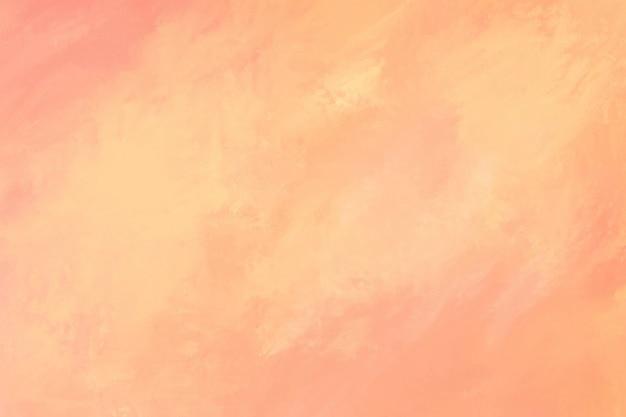 Perzik aquarel textuur achtergrond Gratis Foto