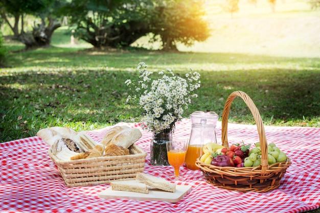 Picnic lunch Premium Foto