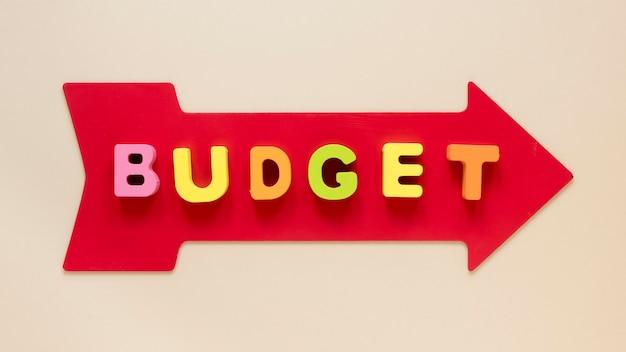 Pijl met budget Gratis Foto
