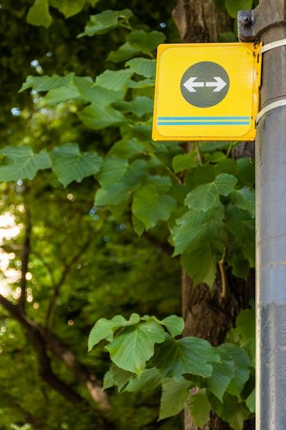 Pijlteken in het bos Gratis Foto