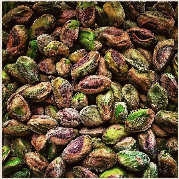 Plaat smakelijke noten eten koekjes bakken pistatzien foto gratis download - Plaat hoek bakken ...