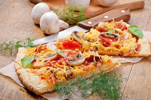 Plakjes pizza Gratis Foto