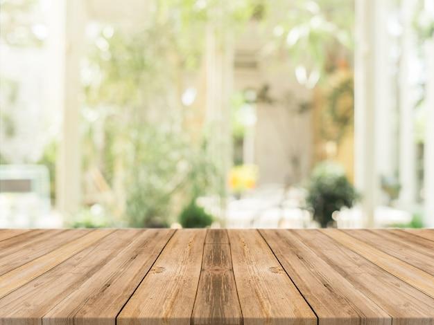 Planken met ongericht achtergrond Gratis Foto