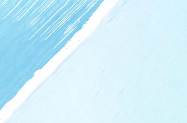 Plat lag lichtblauw schilderij Premium Foto