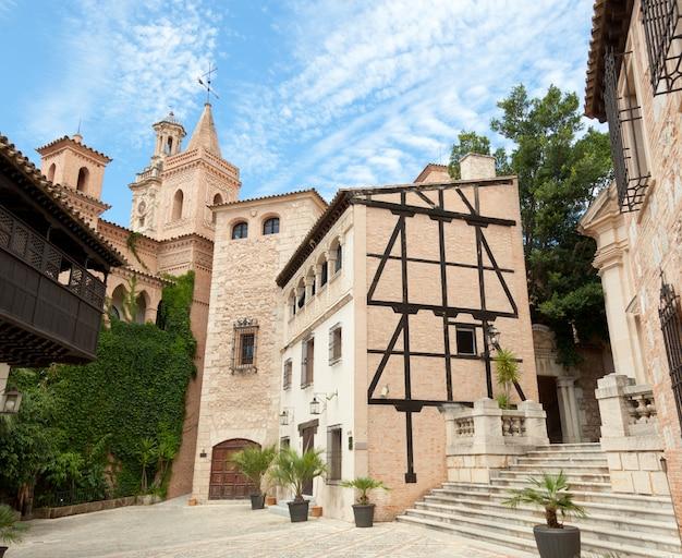 Poble espanyol od palma de mallorca Premium Foto