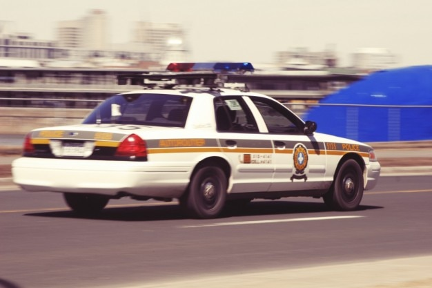 Politie auto Gratis Foto