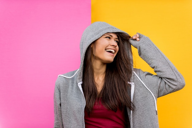 Portret van jonge mooi meisje Premium Foto