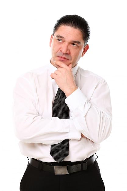 Portret van zakenman van middelbare leeftijd Gratis Foto