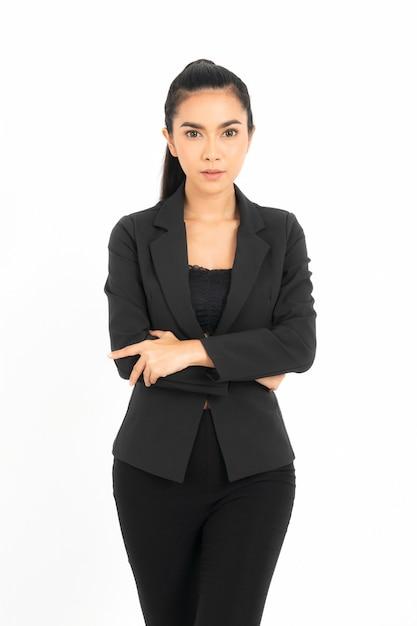 Portret zakenvrouw Premium Foto