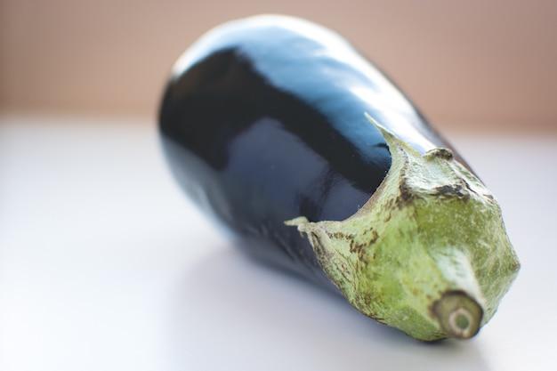 Prachtig gezond auberginedetail Gratis Foto