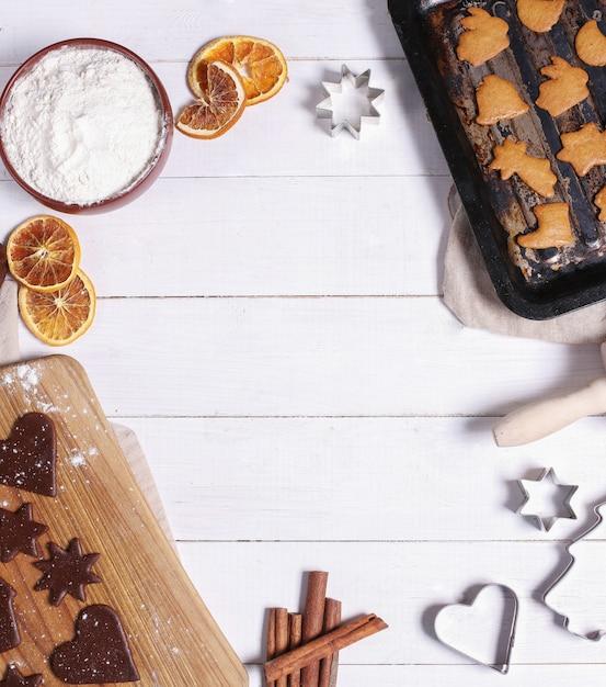 Proces om cookies te maken Gratis Foto
