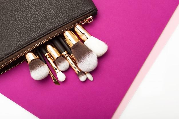 Professionele make-up kwast Premium Foto