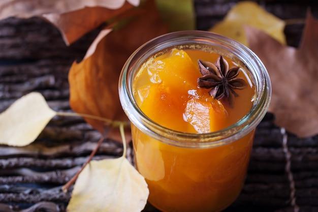 Pumpkin stukken in een glas foto gratis download - Stukken outs ...